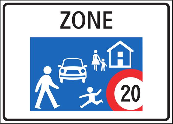 Geschwindigkeitsanpassung für Fahrzeuge in Roderdorf