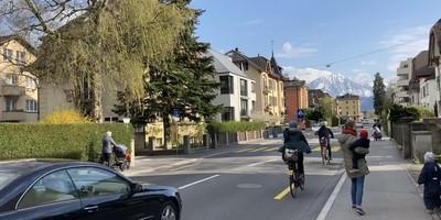 Tempo 30 auf der Horwerstrasse auf dem Abschnitt Allmend bis Eichhof
