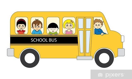 Schulbus für Kindergarten - und Schulkinder