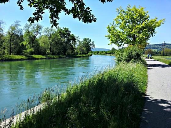 Rettung des Mitteldamms - Erhaltung der Badelandschaft Aarau