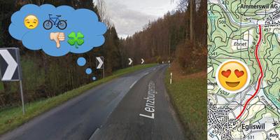 Sicherer Veloweg von Egliswil nach Ammerswil