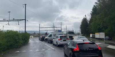 Bahnübergang Hendschiken/AG