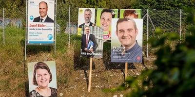 Umweltfreundlichere Wahlwerbung - Weg von Plastik im öffentlichen Raum