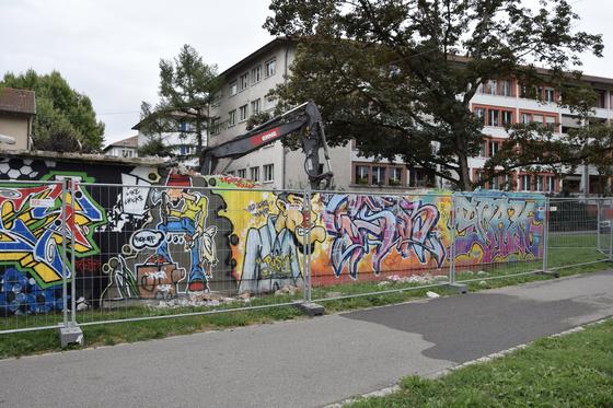 Graffiti - Mehr legale Flächen für Basel