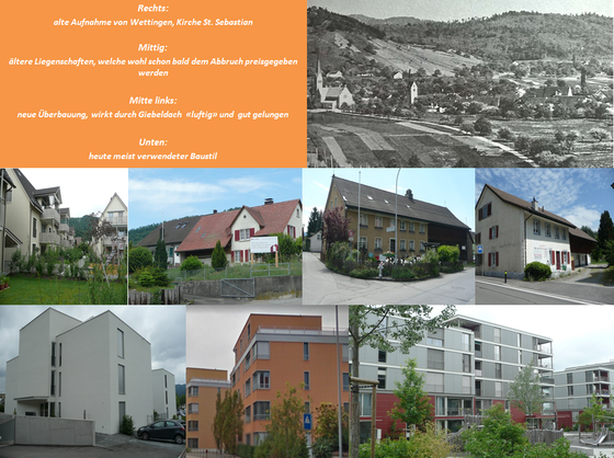 «Erhaltung der Gartenstadt Wettingen»