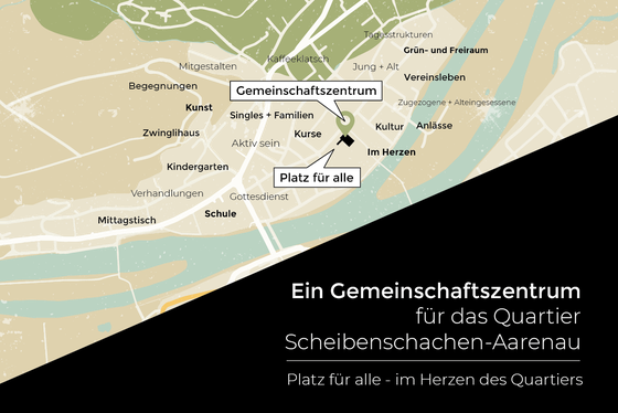 Ein GZ für das Quartier Scheibenschachen-Aarenau