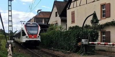 """Petition """"Keine S-Bahn-Doppelspur im Riehener Dorfzentrum"""""""