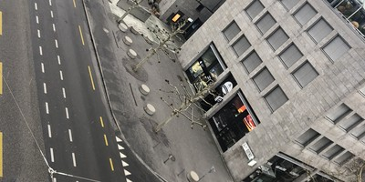 Zusätzlicher Fussgängerstreifen an der Bahnhofstrasse