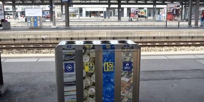 Recycling-Stationen auch in der Stadt Baden