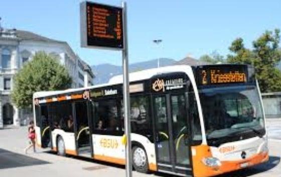 Bus-Linie Derendingen nach Luterbach/Deitingen
