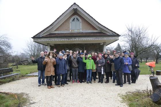 Erhalt von Lusthäuschen, Henzihof & Obstgarten & Nutzung als Begegnungsort