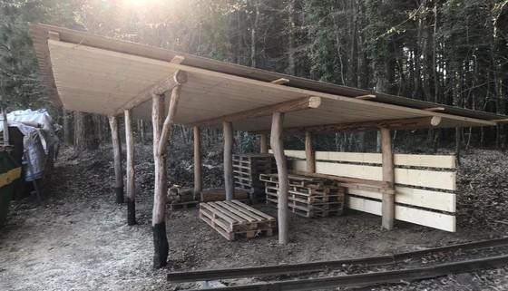 Ein Zeichen setzen für den Holzplatz Zinggen und die Arbeit des NVVK
