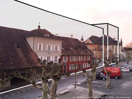 Für eine massvolle bauliche Entwicklung der Brugger Innenstadt