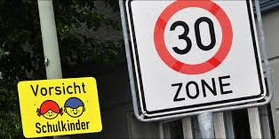 Schutz unserer Kinder durch Einrichtung Tempo-30-Zonen in Quartierstrassen