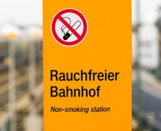Rauchfreier SBB Bahnhof Basel