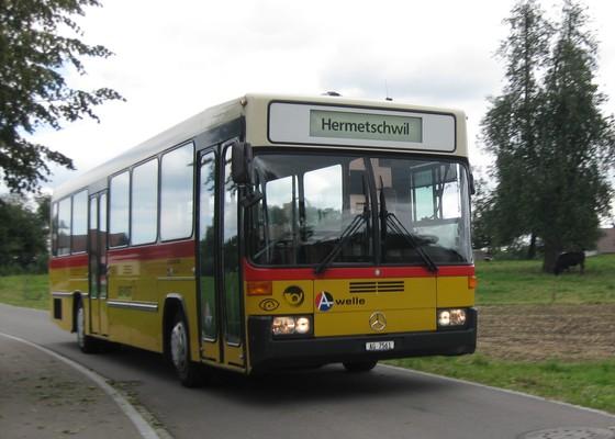 Zusätzliche Busverbindungen ab Staffeln 8.18 und ab Bremgarten 21.54