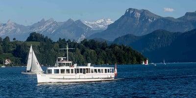 Rettet das Motorschiff Mythen auf dem Vierwaldstättersee