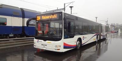 Postautoverbindung durchs Studenland nach Bad Zurzach