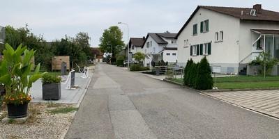 Tempo 30 Zone in den Quartieren unterhalb der Bahnlinie in Hägendorf